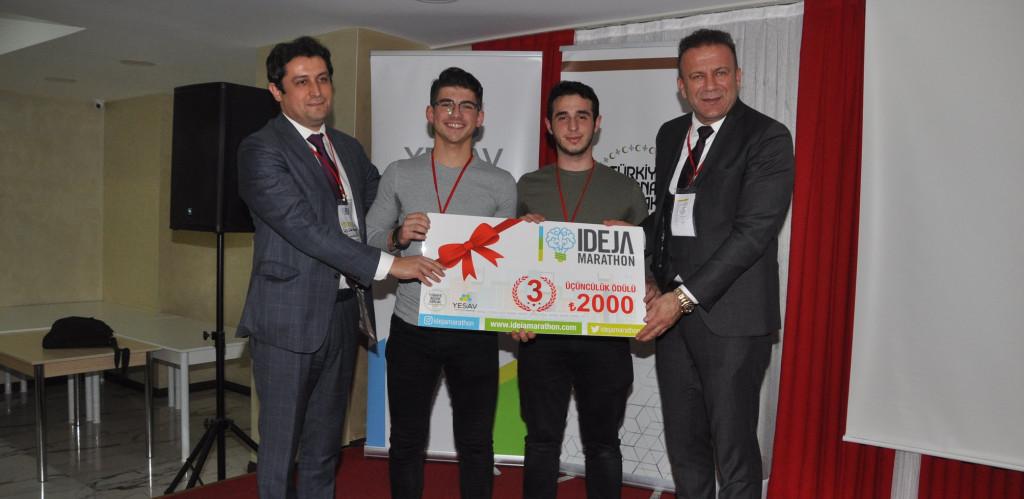 """""""Ideja Marathon"""" Yarışmasında Üçüncülük"""
