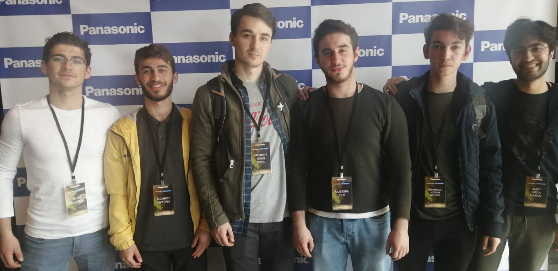 Bilgisayar Mühendisliği Öğrencilerimiz Panasonic Life Solutions Hackathonu'na Katıldı